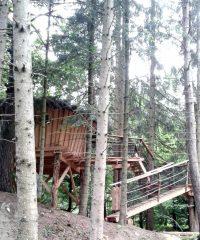 Cabanes et yourtes de la vallée de l'ance