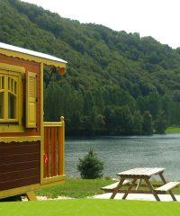 Lac des Graves – Roulottes et chalets