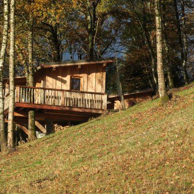 Cabanes dans les arbres : Guiguette
