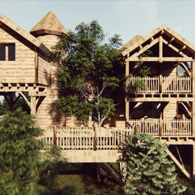 Cabanes Châteaux dans les Arbres – Le Peydébé