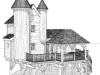 cabane chateau dans les arbres - Aulteribe